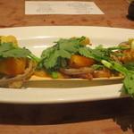あえん - 「あえんコース」⑦桜山豚ロースのグリル 旬野菜添え