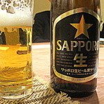 34477838 - 飲み放題付き宴会スタートはやはり瓶ビールで…