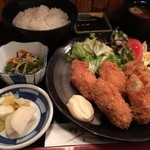 武馬 - カキフライ定食