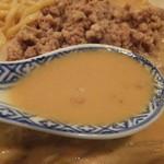 中国料理 小花 - 担々麺のスープ