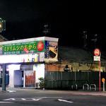 ブルーバード - 「西堀飲食店街」の全景(ミドリムシのちから」の看板が笑えます)