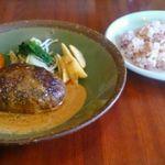 バオバブ - ハンバーグ定食