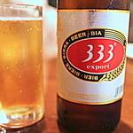 フォー ベト レストラン - スタートはベトナムビール「333」で…