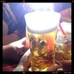 34484525 - 女子会二件目(≧∇≦)ビールにしたった
