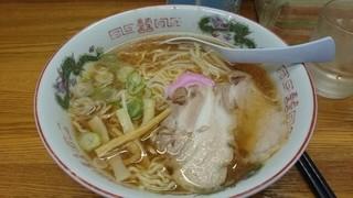 ラーメン幸雅 - 2015年1月 なつ旨醤油ラーメン大盛り(710円)