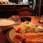 とんかつマルミ - 料理写真:とんかつB定食【980円】