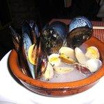 3449690 - 身体に良い浅蜊とムール貝のワイン蒸し