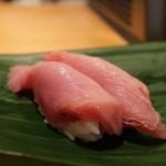 寿司光 - メジマグロ