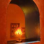 トラットリア・イタリア - ホウズキのランプ