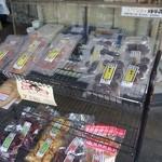 芋十 - (2014/12月)店内の袋入り商品の棚