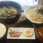 34492569 - つけ麺(ライス付)