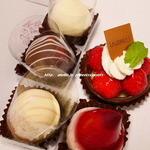 オードリー - いちごとチョコのお菓子たち♪