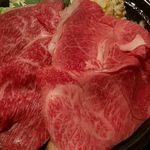 米沢牛黄木 東京店 - 土日祝限定・贅沢膳の米沢牛鍋