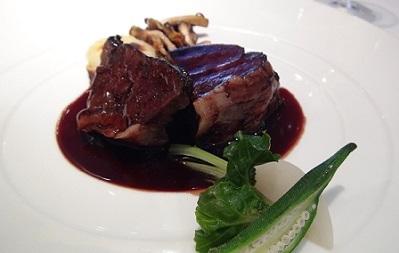 ル・ジャンティオム - 牛ほほ肉のワインソース