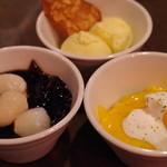 松記鶏飯 - デザート各種