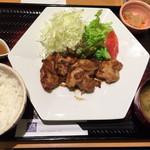 大戸屋 - 豚生姜焼き定食