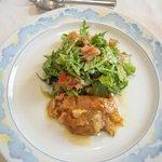 アンジェロ - 料理写真:オモロのテリーヌカレー風味