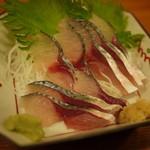 串焼き いの田 - 真サバのお刺身
