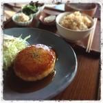 ライスフィールド - 料理写真:豆腐ハンバーグ