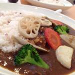 Curry&Cafe香炉里 - ランチパスポートで500円に。 とても美味しかったです。 歩きでしか行けないのが残念。でも隠れ家的なお店を見つけて嬉しかったです