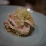 チムウォック - 蒸し鶏のネギソース