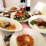 リロンデル - 各種コース料理もご用意します。