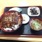 たぬき庵 - ソースカツ丼