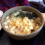 たぬき庵 - 料理写真:たぬき蕎麦