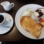 カフェ キナリ - モーニング(全体)