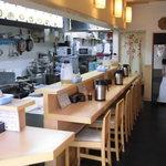 麺工房 こさん - 綺麗にされてます物腰の柔らかいご主人 が。。。