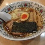 ススキノ - ワンタンメン730円