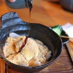 酒肴蕎麦 日和り - 蕎麦すいとん(594円)