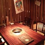 完全個室&食べ放題 焼肉ダイニングSae Style - 全席間仕切りまりでゆっくりお楽しみいただけます!