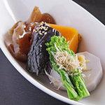 伊千兵衛 dining - 季節野菜の炊き合わせ