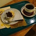 南阿蘇珈琲 - 料理写真:デザートは どろっぷすさんで出たものです