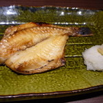北の味紀行と地酒 北海道 - 自家製干物 もう少し塩が効くと美味しいのにな・・・メバル780円