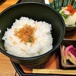 串亭 京橋銀座一丁目 - じゃこご飯