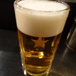 きど藤 - 生ビール:390円