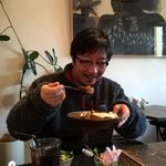 cafe wasugazen  - カレーセット 1300円