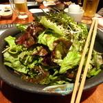 Ginzasakabamaruhachi - 2015.01 うまかもんコース:特製 ごま油のサラダ