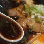 夕張ラーメン - スープ
