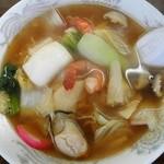 みかさや食堂 - 料理写真:海鮮ラーメン¥850