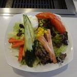 焼肉グルメ 空 - 空サラダ