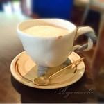 Pancafe ao - セットのカフェラテ