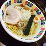 江川亭 - 油麺大盛り