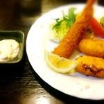 ラハイナ - 料理写真:ミックスフライ