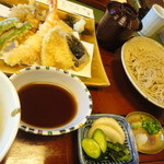 蕎麦わび介 - そば御膳