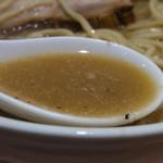 麺家 一鶴 - 鶏煮干ラーメンのチャーシュー