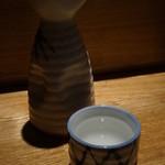 いちふみ - 三千櫻の純米を燗で