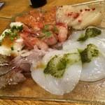 魚串 炙縁 - カルパッチョ